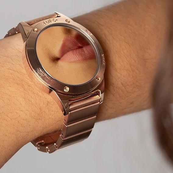 Relógio Euro Feminino Rosé Digital Espelhado Eujhs31bac/4d