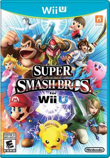 Juego Nintendo Wii U Super Smash Bros - Refurbished Fisico