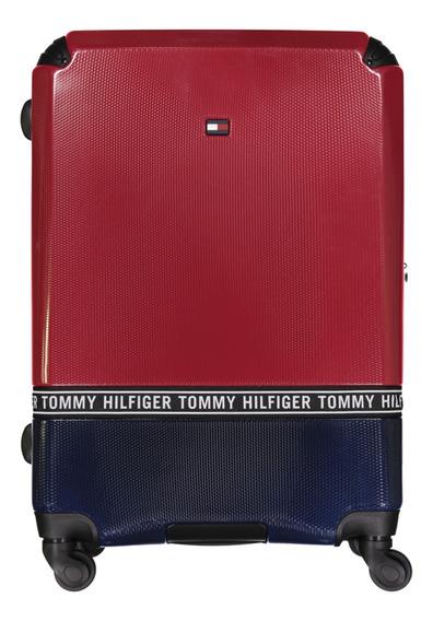 Tommy Hilfiger Maleta Unisex Roja Mod Tm814ct8-630