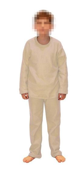 Pijama Infantil Soft Em Tecido Liso 10,12 E 14 Anos Ori Kids