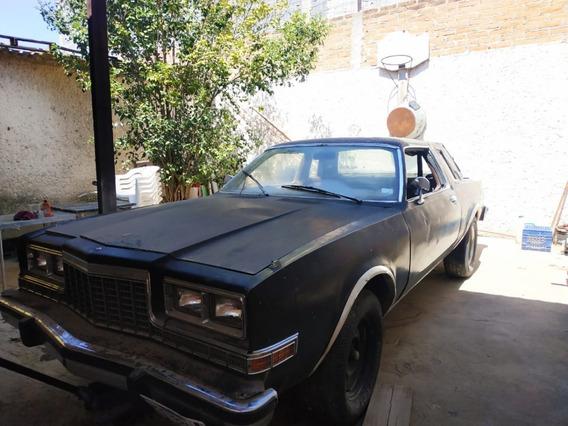 Auto Carro Antiguo Clasico Dodge Dart Coupe 1981 Mexicano