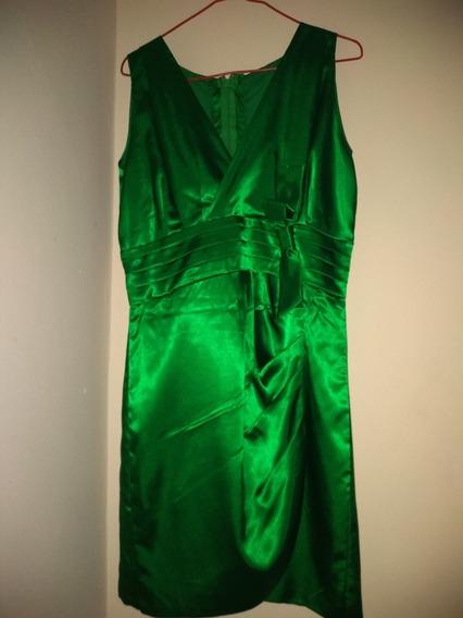 Vestido De Fiesta Color Verde