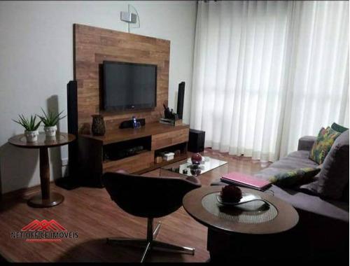 Imagem 1 de 5 de Apartamento Com 3 Dormitórios À Venda, 108 M² Por R$ 550.000 - Jardim Aquarius - São José Dos Campos/sp - Ap2200