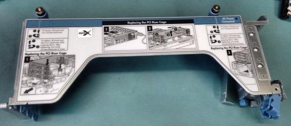 Riser Board W/ Cage Hp Proliant Dl380 G4 Server Pci-x 344460