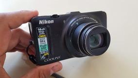 Câmera Digital Nikon Coolpix S9300 (perfeita Para Youtube)
