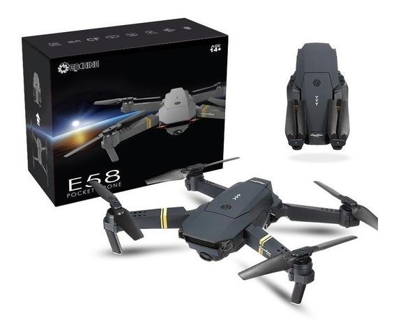 Drone Eachine E58 Dobrável Câmera 2mp 720p Mais 2 Baterias