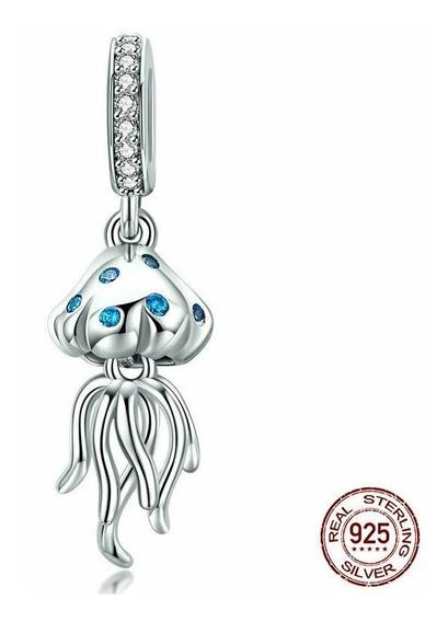 Dije Charm Medusa Compatible Con Pandora Plata .925