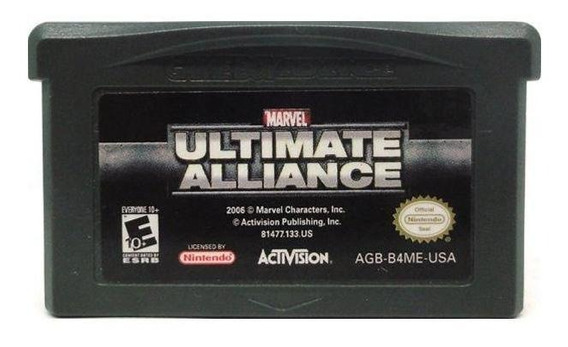 Marvel Ultimate Alliance Gba Mídia Física Pronta Entrega