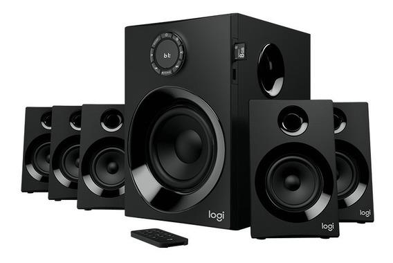 Caixas Som Logitech Z607 Surround Speaker System Bluetooth