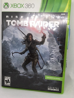 Juego Xbox 360: Rise Of The Tomb Raider