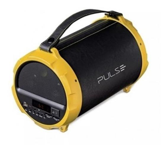 Caixa De Som Pulse Bluetooth/radio/sd/usb 40w Bazooka Sp265
