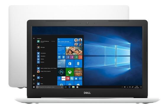 Notebook Dell Ryzen 5 2500u 16gb 256gb Ssd Placa De Vídeo Integrada Radeon Vega 8 15.6 Full Hd Antirreflexo Branco