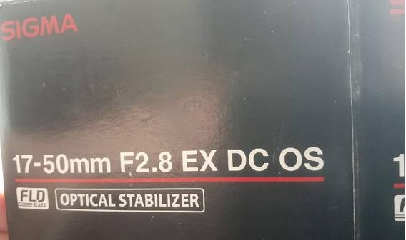 Lente Sigma 24-70mmF2.8Dg Macro