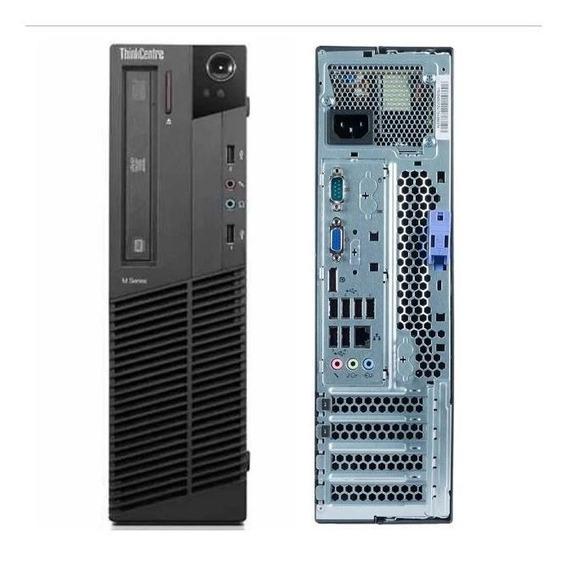 Cpu Lenovo M92 Intel Core I3 3ª Geração 4gb Ddr3 Ssd 240gb