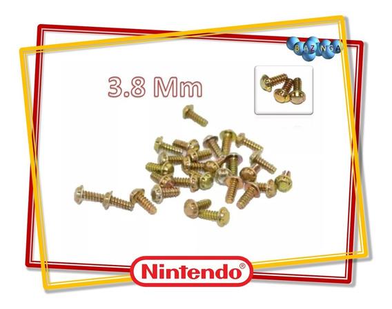 20 Parafusos Para Cartuchos De Super Nintendo N64 3.8 M