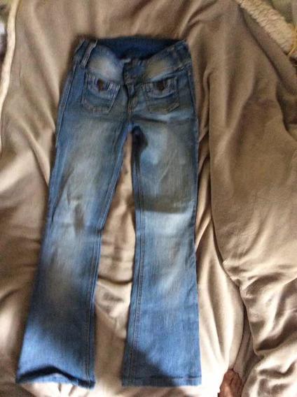 Blue Jeans De Dama Talla 27