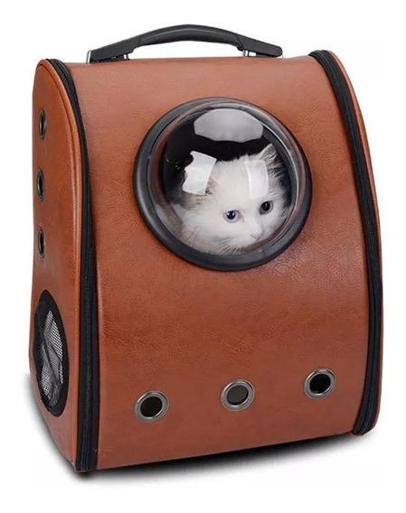Mochila Transportadora Mascotas Gato Perro Huron Conejo Avio