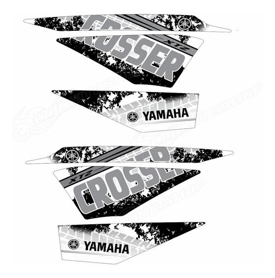 Kit Adesivo Faixa Crosser Xtz 150 Personalizado Yamaha M15