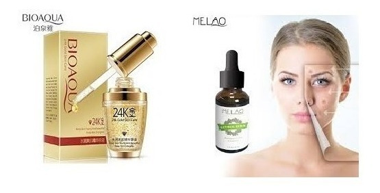 Combo De Belleza Acido Hialuronico +cerum + Vitamina +regalo