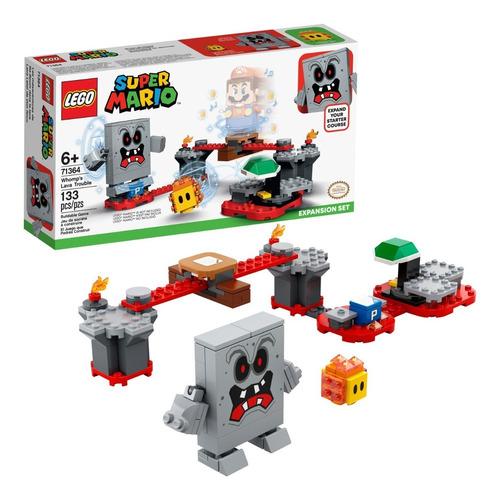 Lego Super Mario 71364 Lava Letal De Roco 133 Piezas