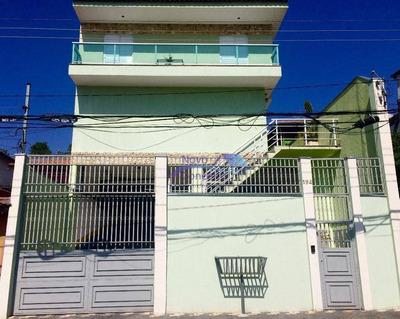 Sobrado Em Condomínio Residencial À Venda, Itaquera, São Paulo. - So0008
