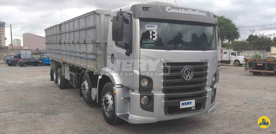 Caminhão Vw 24.280 Bi-truck Graneleiro 2013 Un.dono