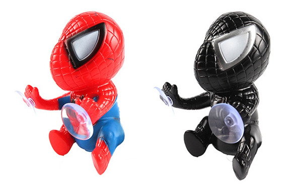 Super Hero Spider-man Figuras Molde Muñeca Juguete Con Succi