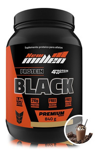 Whey Protein Black 840g New Millen Todos Os Sabores