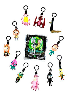 Rick And Morty Bag Clip Serie 4 Monogram Sobre Sorpresa