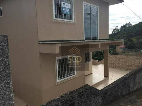Casa Com 4 Dormitórios À Venda, 250 M² Por R$ 480.000,00 - Fundos - Biguaçu/sc - Ca0363