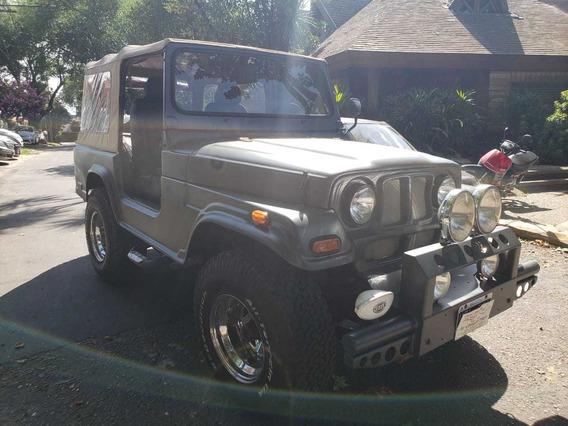 Jeep Ika Aff 4x4, Anticipo Mas Cuotas, Permuto, Financio