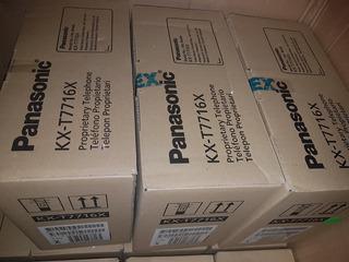Kx-t7716x Telefono Unilinea Con Pantalla, Caller Id, Lampara