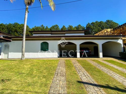 Imagem 1 de 30 de Alphaville 04 - Casa 350m² - 4 Suítes; 6 Vagas; Piscina; Espaço Gourmet Com Churrasqueira; Amplo Living - Cncd904