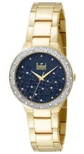 Relógio Feminino Dumont Analógico - Du2039ltu/4a - Dourado