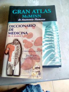 Libro De Anatomia Humana Atlas Mcminn Con Diccionario Medico