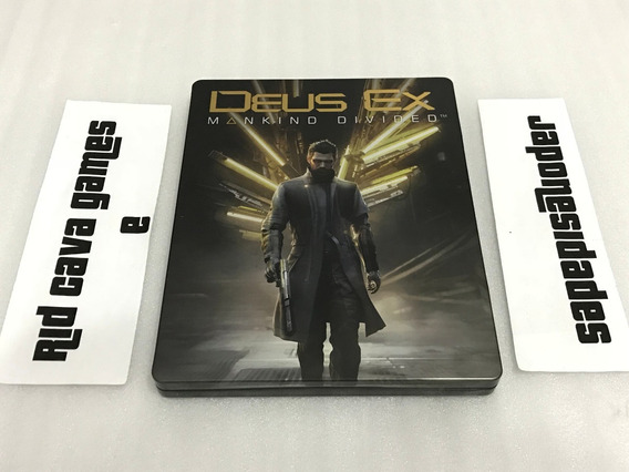 Steelbook Deus Ex: Mankind Divided - Sem O Jogo