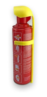 Extintor Desechable De 400 Ml Fire Stop Con Base.