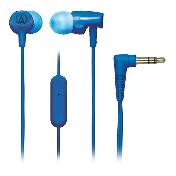 Fone De Ouvido C/ Mic Audio-technica In-ear - Ath-clr100isbl