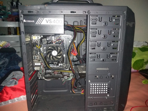 Pc Gamer Completo - 4gb De Ram, 500gb Hd, Amd A8 7600 Apu