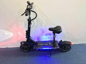 Electric Scooter 3600w/60v Two Wheel 11inch Folding Off Road