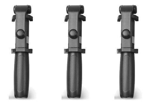 Kit 3x Pau Selfie Bastão Tripe Bluetooth Sem Fio Original