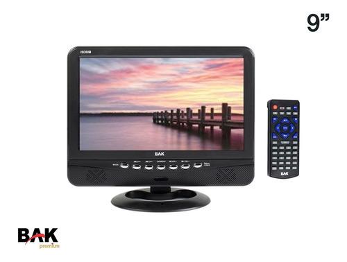 Tv Portátil Bak Isdbt Lcd Digital 9