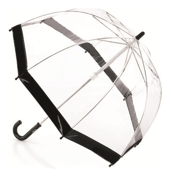 Paraguas Campanita Hongo Resistente Familiar Transparente