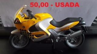 Miniatura De Moto Majorette Bmw K1200rs 1/18 = Usada