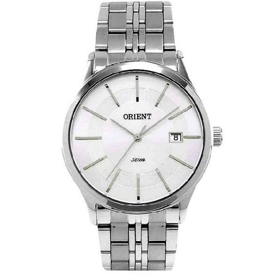 Relógio Orient Masculino Aço Clássico Mbss1201 S1sx