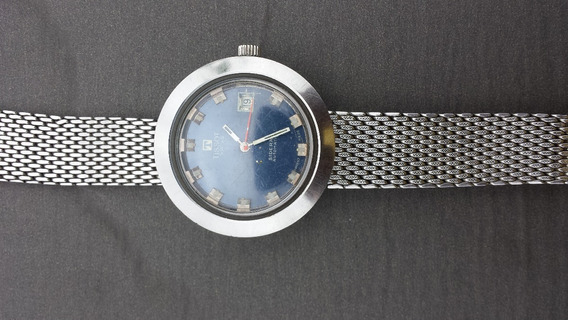 Tissot Sideral Automatic Date Steel Mechanical
