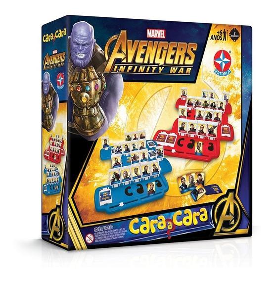 Jogo Cara A Cara Vingadores Guerra Infinita - Estrela