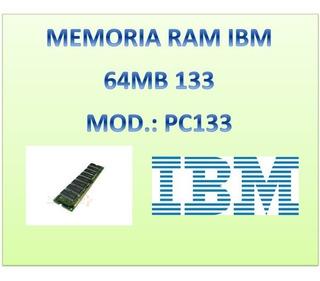 Memoria Ram Pc133-333-342-c De 64mb, Marca Ibm
