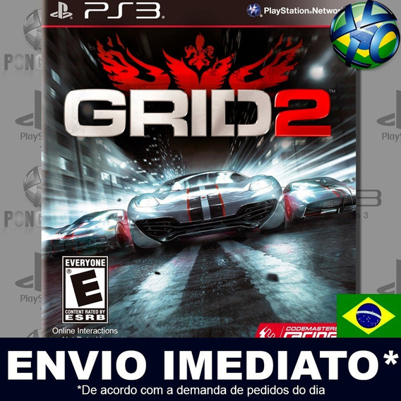 Grid 2 Ps3 Psn Dublado Português Pt Br Jogo Em Promoção