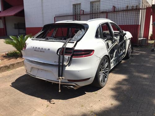 Imagem 1 de 7 de Sucata Porsche Macan 2015/2015 Gasolina 400cvs